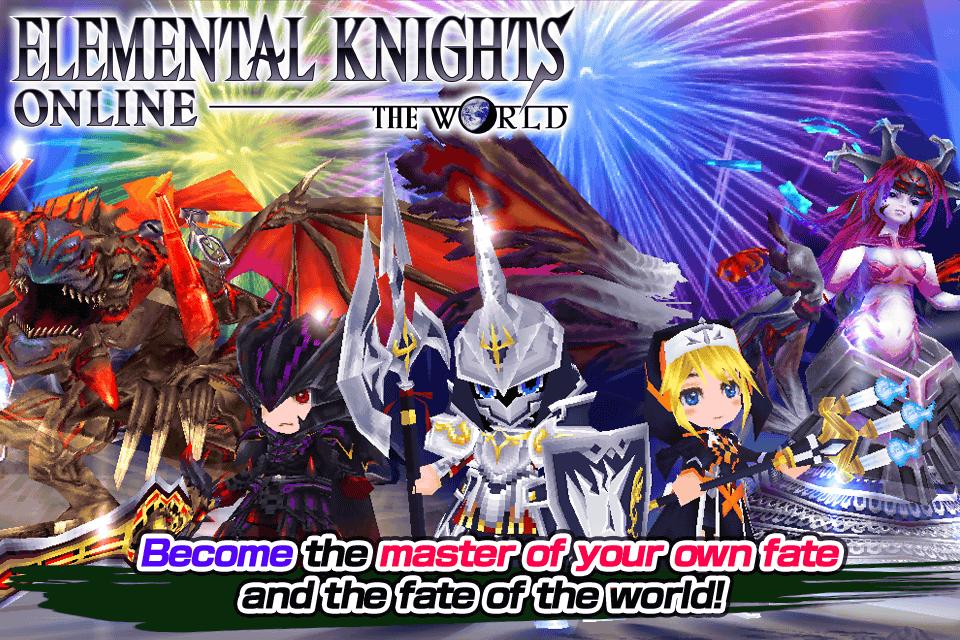 Elemental Knights Online RED - screenshot
