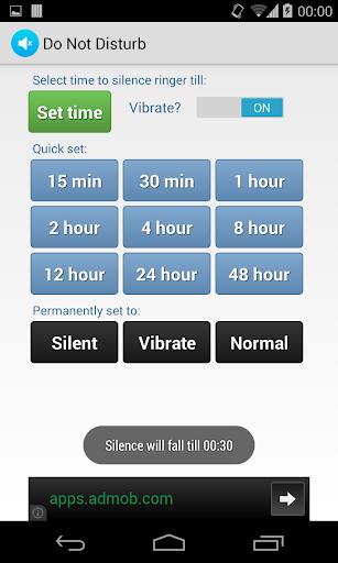 Do Not Disturb Ringer Silencer  screenshots 2