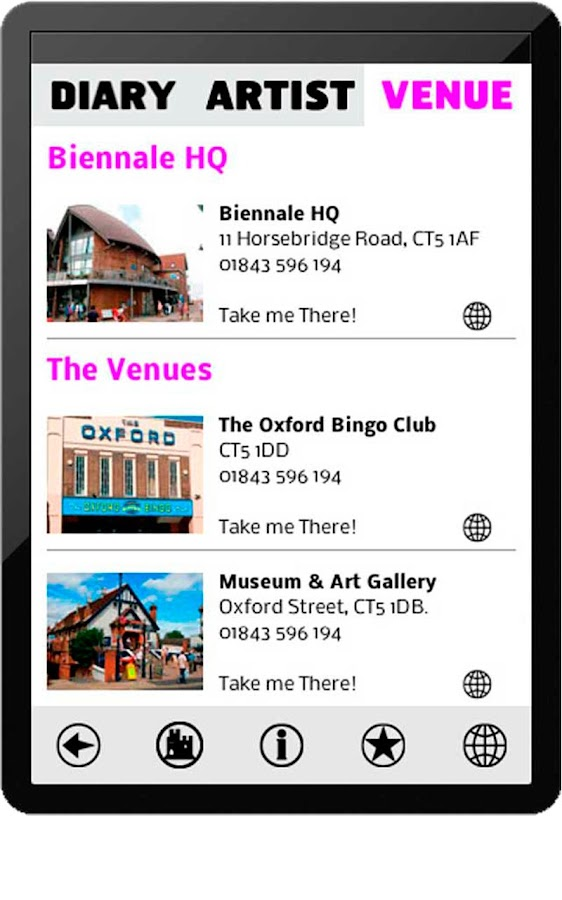 Whitstable Biennale 2012- screenshot
