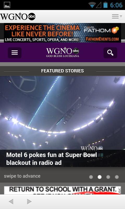 WGNO News - New Orleans - screenshot