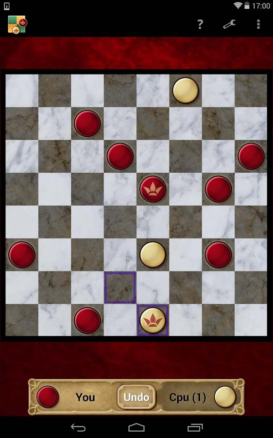 Checkers - screenshot