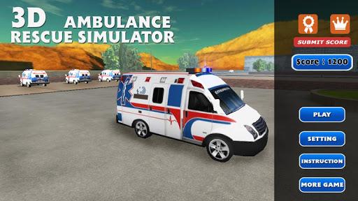 3D Ambulance Rescue Simulator