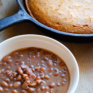 Crockpot Pinto Beans.