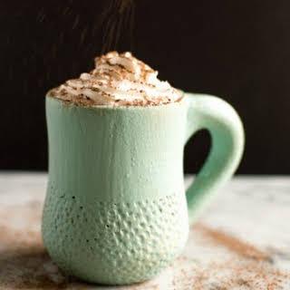 Coconut Kahlua Hot Chocolate.