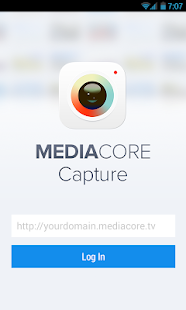 MediaCore Capture- screenshot thumbnail