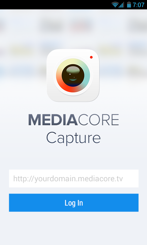 MediaCore Capture- screenshot