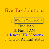 Get Refund, PAN,TAN & Tax Tool