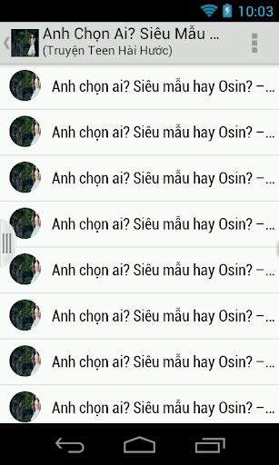 Anh Chon Ai Sieu Mau hay Osin