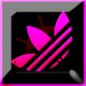 Andidas Black N Pink EvolveSms
