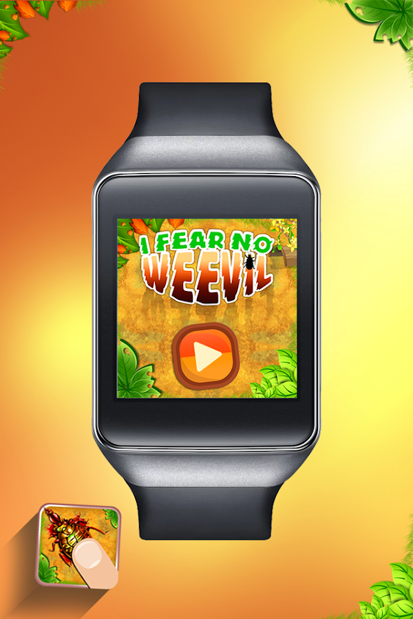 I Fear No Weevil- Android Wear - screenshot