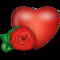 Valentine'sDay OrbClock widget logo