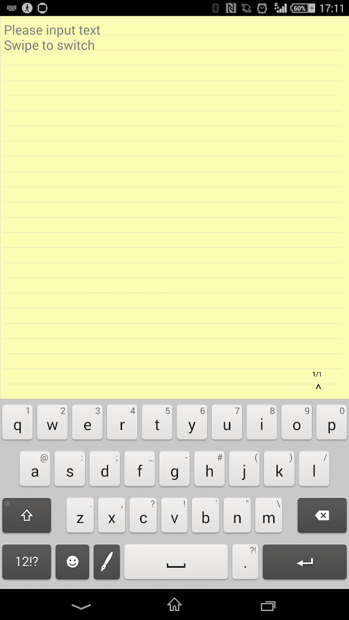 Techo Note+ (memo/sticky note)- screenshot