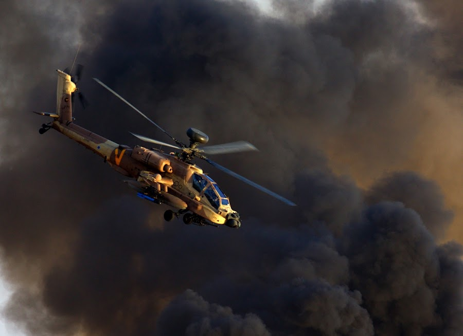 Attack  by Alik Zlotnik - Transportation Helicopters ( apach, apache, attack,  )