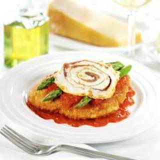 Chicken & Asparagus Parmesan