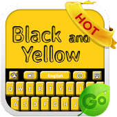 Black and Yellow Keyboard