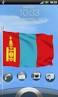 Screenshot of Mongolian Flag Live Wallpaper