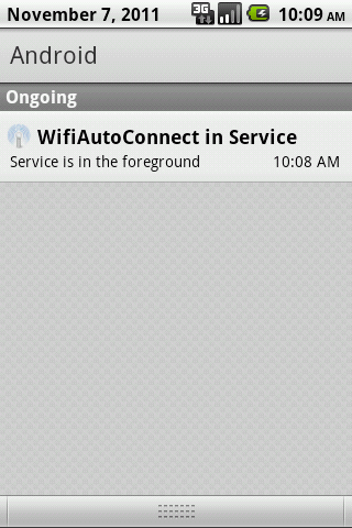 WifiAutoConnect - screenshot
