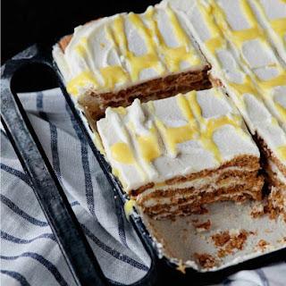 Lemon Cream Icebox Cake