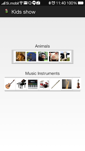 孩子,动物,交通工具和音乐