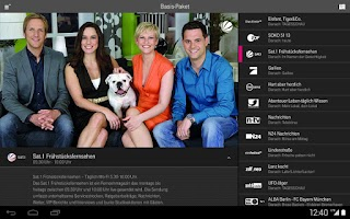 Screenshot of MobileTV