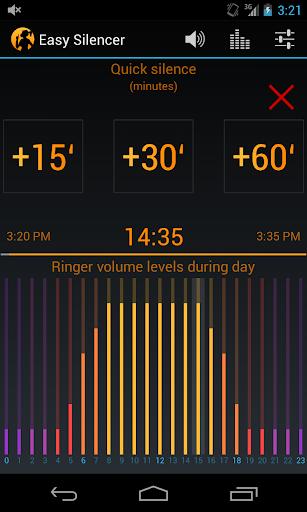 Easy Silencer - Ringer volume  screenshots 6