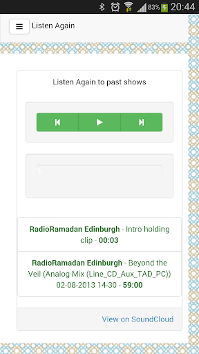 Radio Ramadan Edinburgh