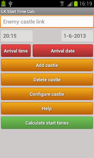 LK Start Time Calc