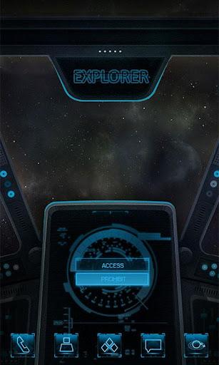 Explorer GO Launcher Theme