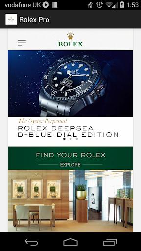 Rolex Pro
