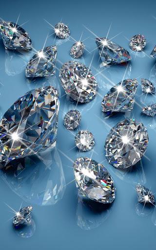 Diamonds Live Wallpaper  screenshots 2
