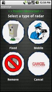 AndroEye, Speed Camera Warner- screenshot thumbnail