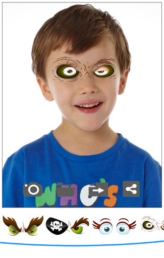 Pirate Cartoon Eyes Camera