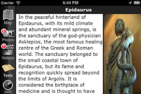 EasyGuideApp Epidaurus- screenshot thumbnail