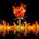 Rosey Flames Live Wallpaper