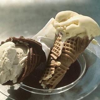 Vanilla Waffle Cones