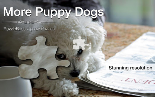 More Puppy Jigsaw Puzzles