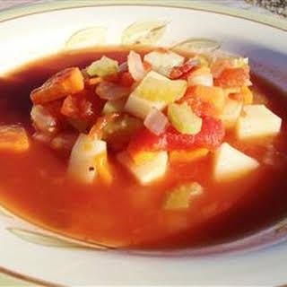 Vegetable Soup I.