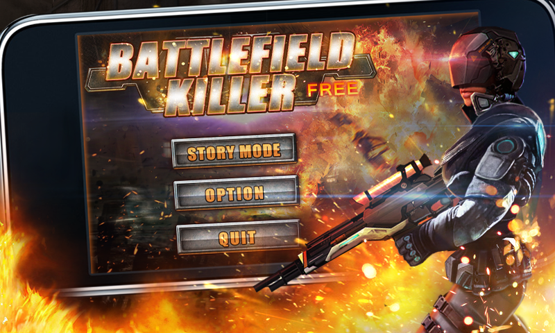 Battlefield Killer Free - screenshot