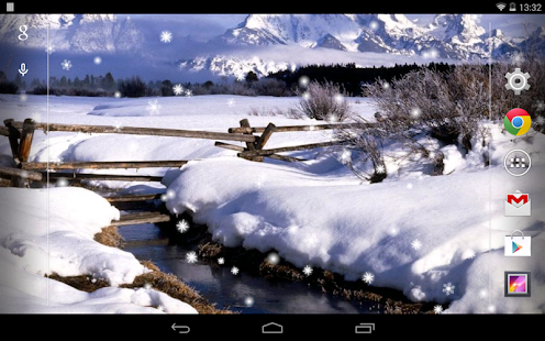 Snow Free Live Wallpaper - screenshot thumbnail