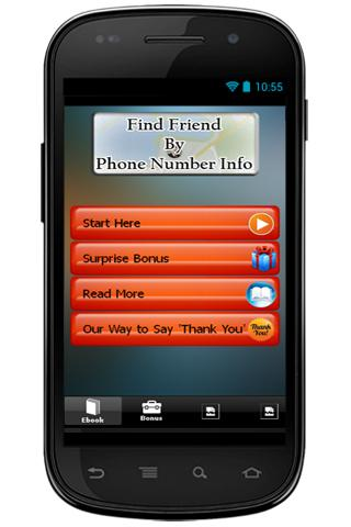 Find Friend By Phone Number
