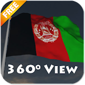 Real Afghanistan Flag LWP