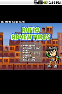 Rufio Adventures LITE- screenshot thumbnail