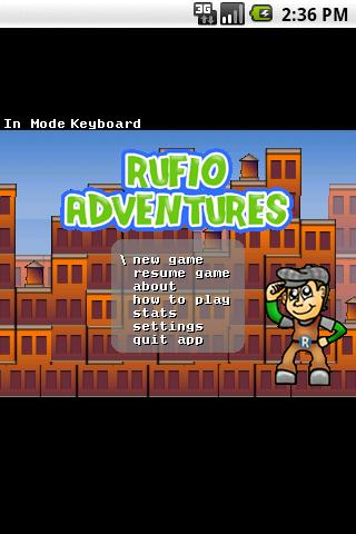 Rufio Adventures LITE- screenshot