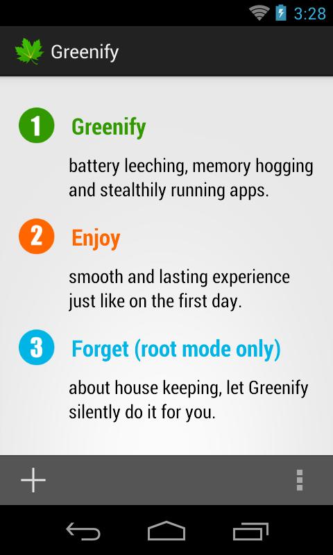 Greenify - screenshot