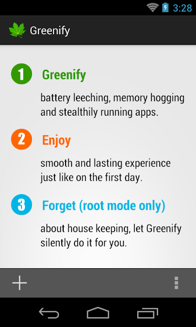 Greenify 2.5 beta 5 Donate Patched APK