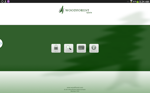 Woodforest Mobile Banking- screenshot thumbnail