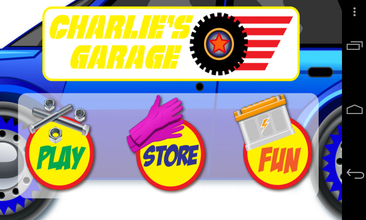 Charlie's Garage Car Maker - screenshot
