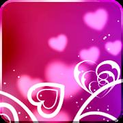 KF Hearts Live Wallpaper