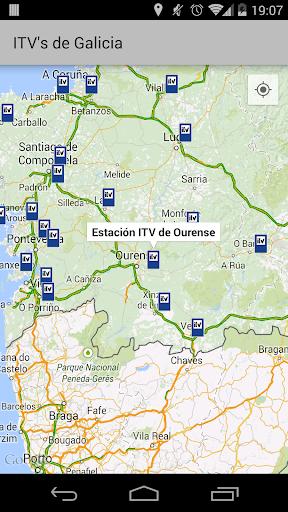 Estaciones ITV de Galicia