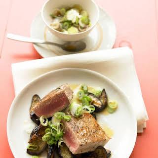 Seared Asian Tuna Steaks.